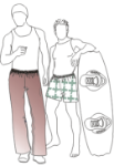 Picture of Casual Knit Pants