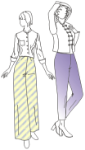 Picture of No Sideseam Pants