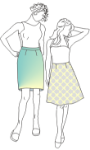 Picture of Classic Darted Skirt