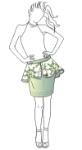Picture of Peplum Skirt