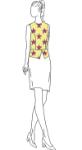 Picture of Peplum Vest